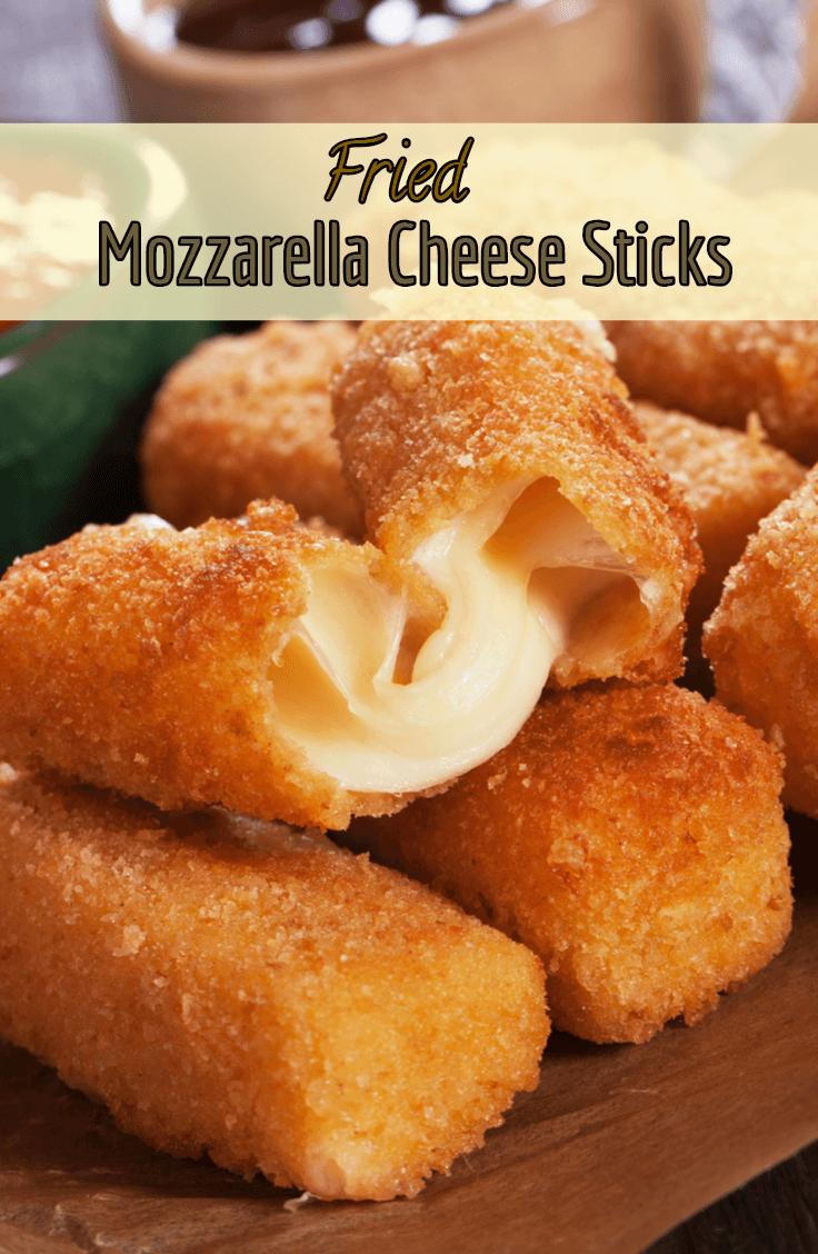 Fried Mozzarella Cheese Sticks Recipe Jalepeno Recipes Cheese Sticks Recipes