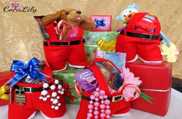 Santa Trouser Gift Bags 50 Off At Groopdealz