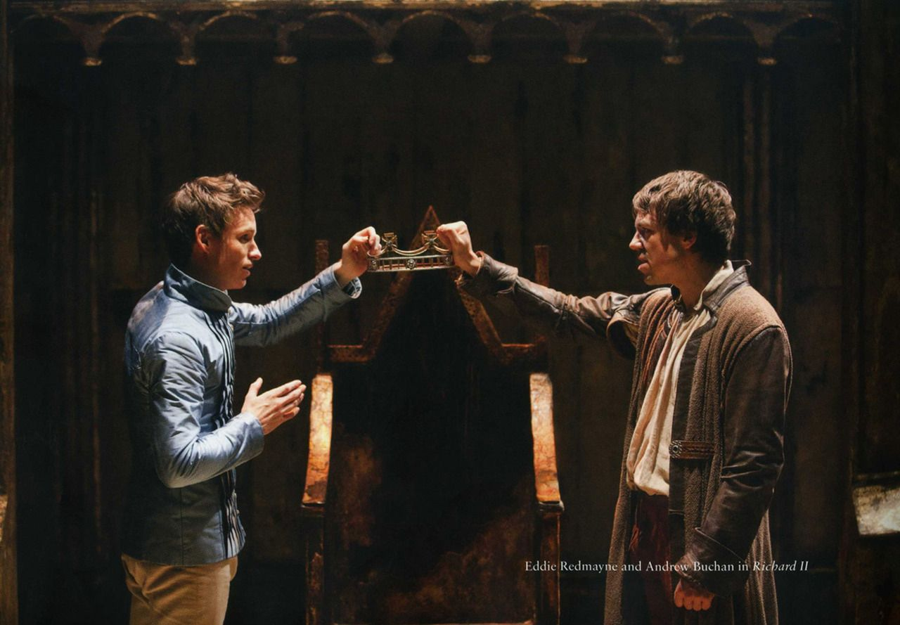 248 16 Eddie Redmayne And Andrew Buchan In Richard Ii From A Decade At The Donmar 2002 2012 Michael Grandage Eddie Redmayne Andrew Buchan Richard Ii