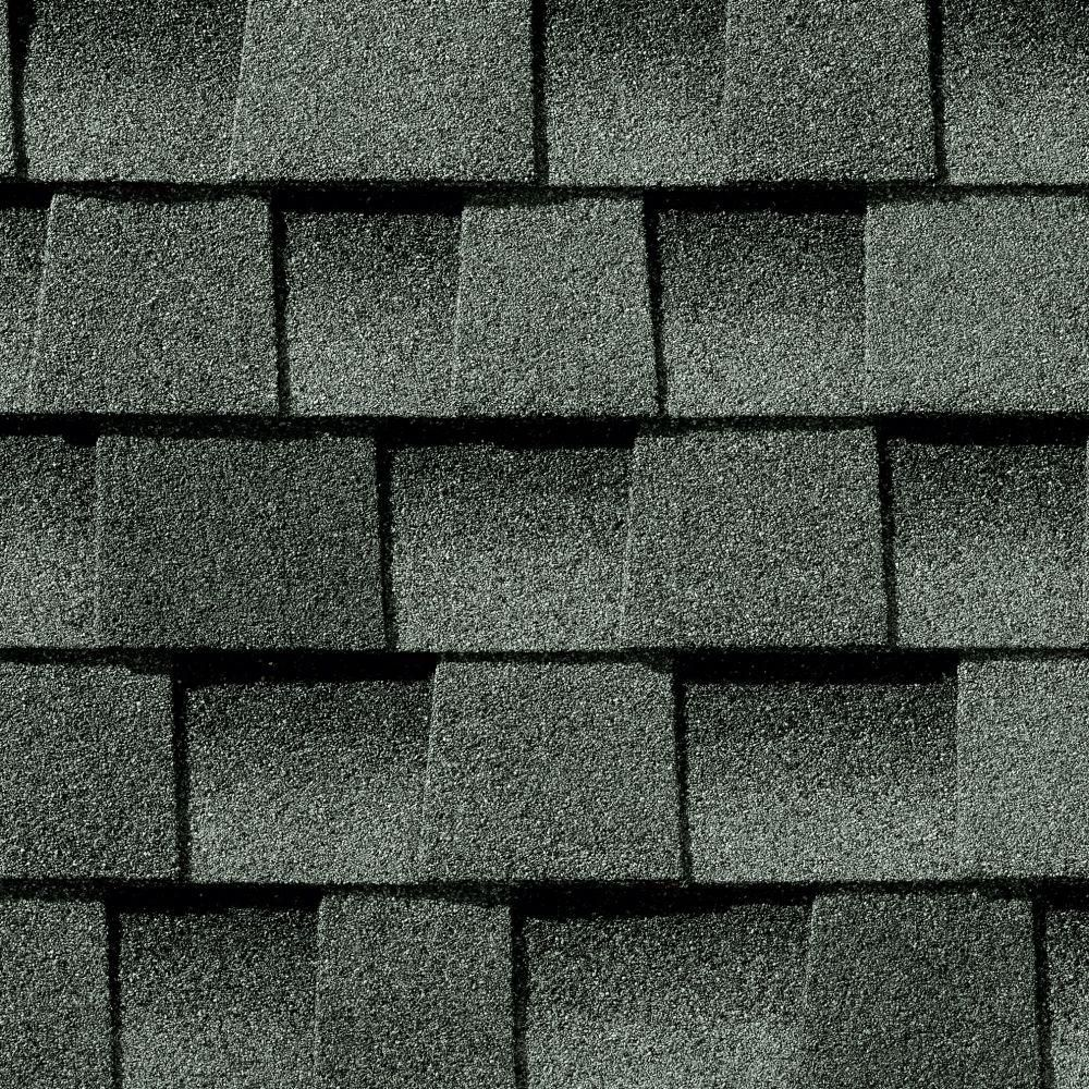 Gaf Timberline Hd Slate Lifetime Architectural Shingles 33 3 Sq Ft Per Bundle 0671750 The Home Depot Timberline Shingles Architectural Shingles Roof Architectural Shingles
