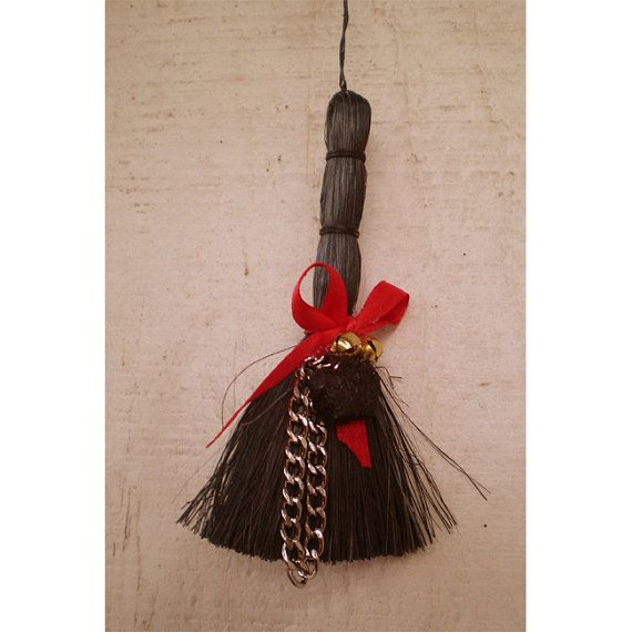 Krampus christmas decoration yule broom switch by ...