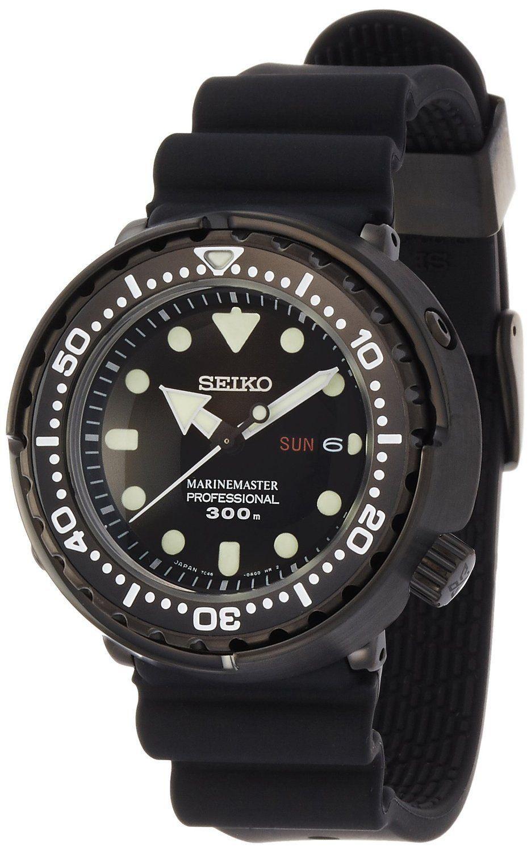 Seiko prospex marine master diver quartz men watch sbbn035