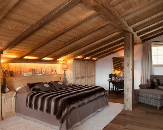 Emejing Chambre Style Chalet De Montagne Ideas - Matkin.info ...