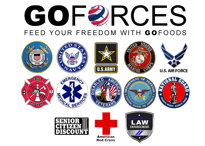 WE SUPPORT OUR AMERICAN FORCES *** In conjunction with GO