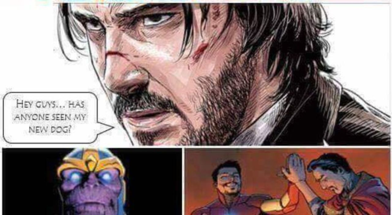 Meme John Wick Vs Thanos (With images) | Avengers funny ...