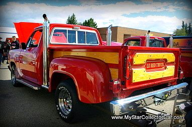 '79 Dodge Little Red Express-this one used to haul horses...click on the picture for the full story.