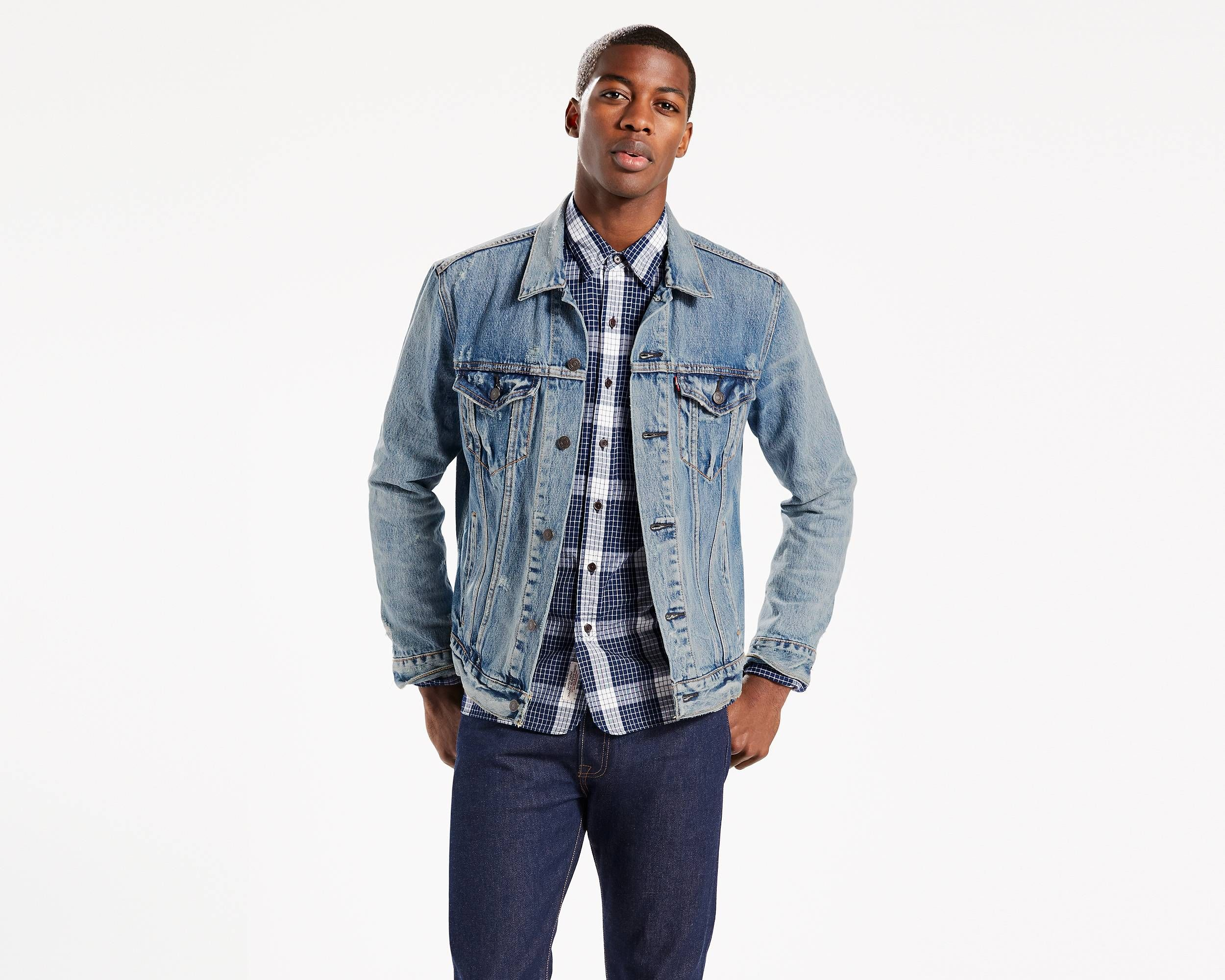 Fit For Anything And Made To Go The Distance Our Truckers Have Been Everyone 39 S Favorite Since 1962 Light Wash Denim Jacket Denim Vest Men Jean Jacket Men [ 2000 x 2500 Pixel ]