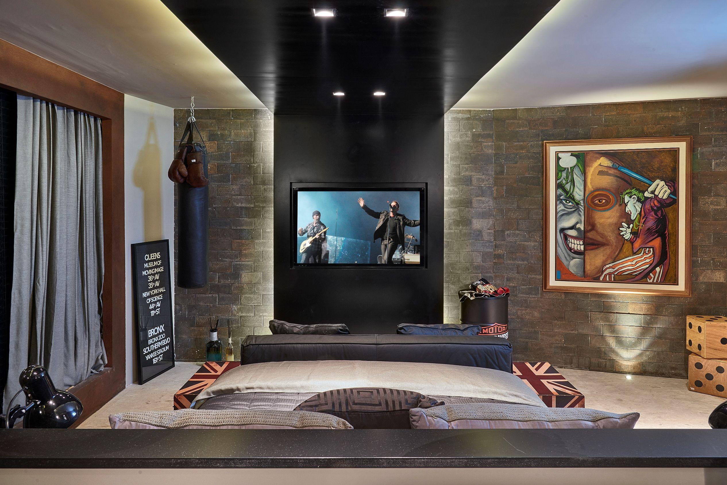 Quarto do Rapaz  Casa Cor  Quarto Casal  Master Bedroom  Pinterest  Quartos