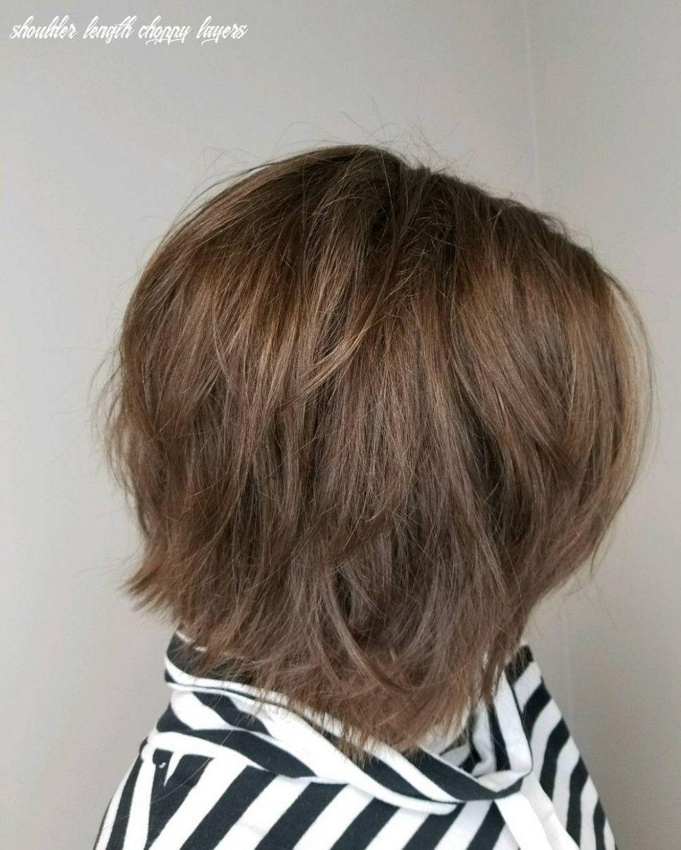 20+ Choppy layers medium hair inspirations