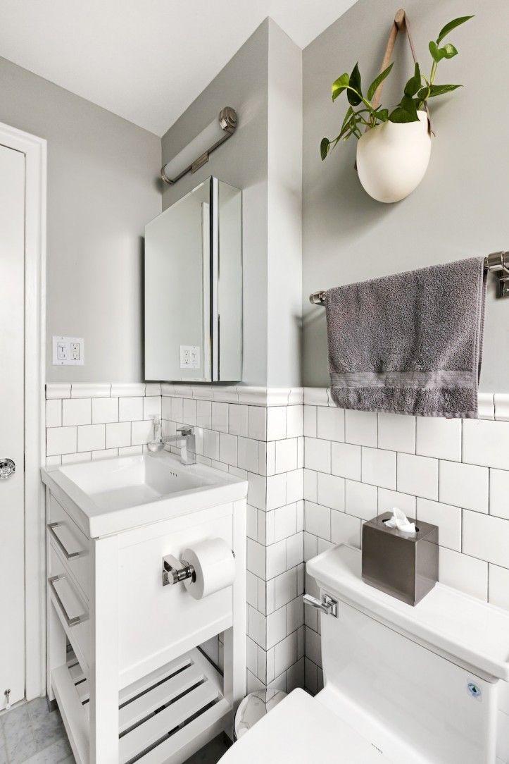 Bathroom Renovation   White herringbone floor tile Tile Spark