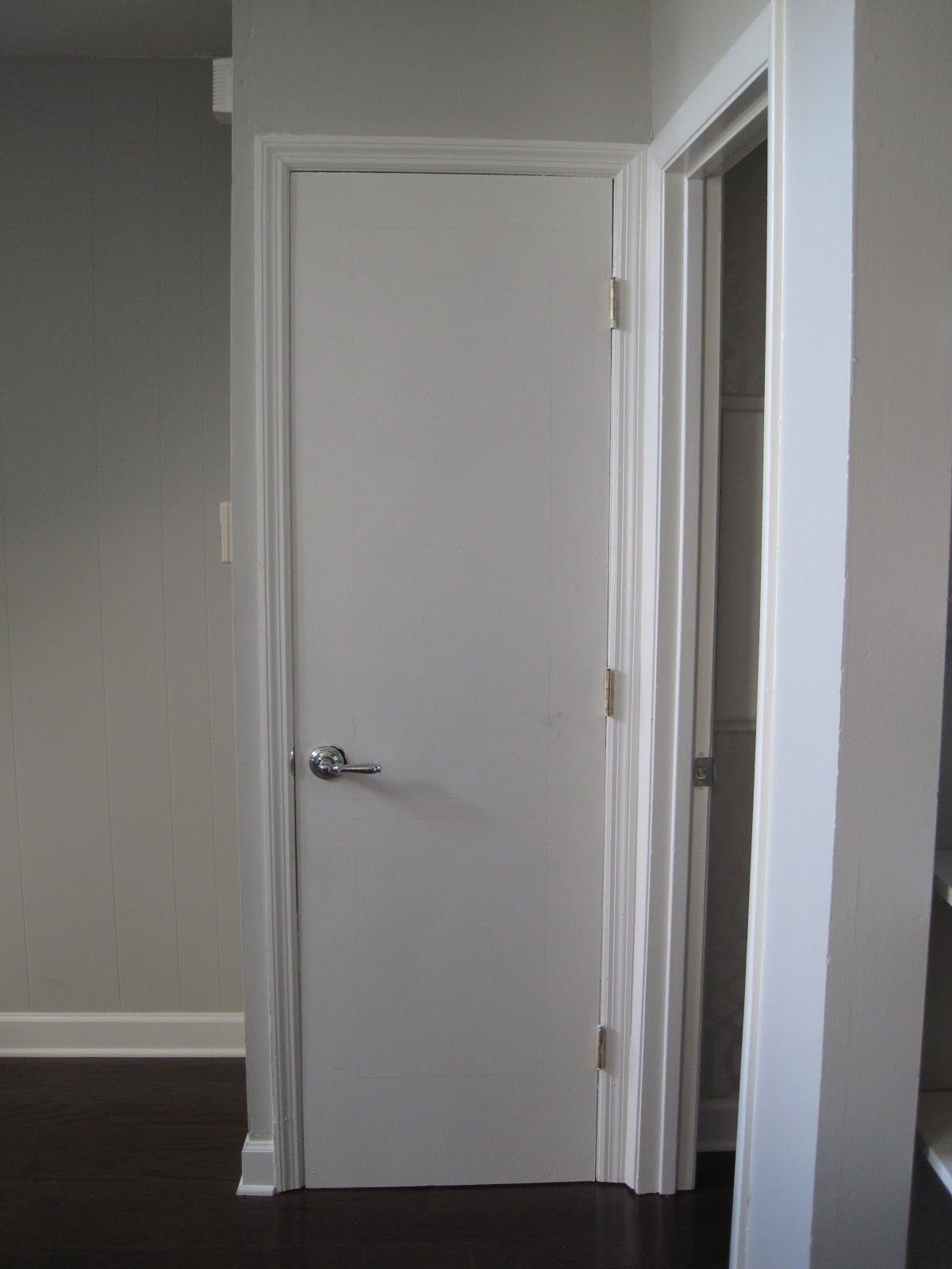 plain white interior doors. This Is For If You Have Those Plain Flat Hollow Core Doors In Your Home. White Interior A
