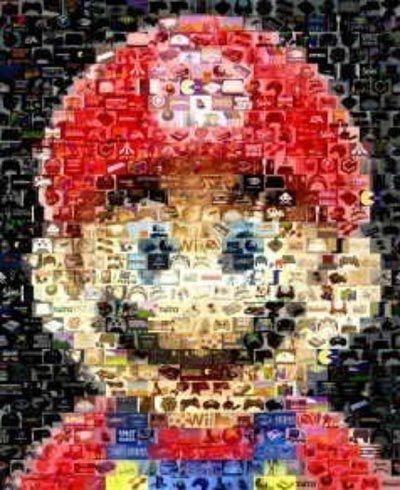 Mario portrait #geek #NerdArt