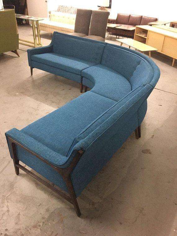 Blue Modular sofa