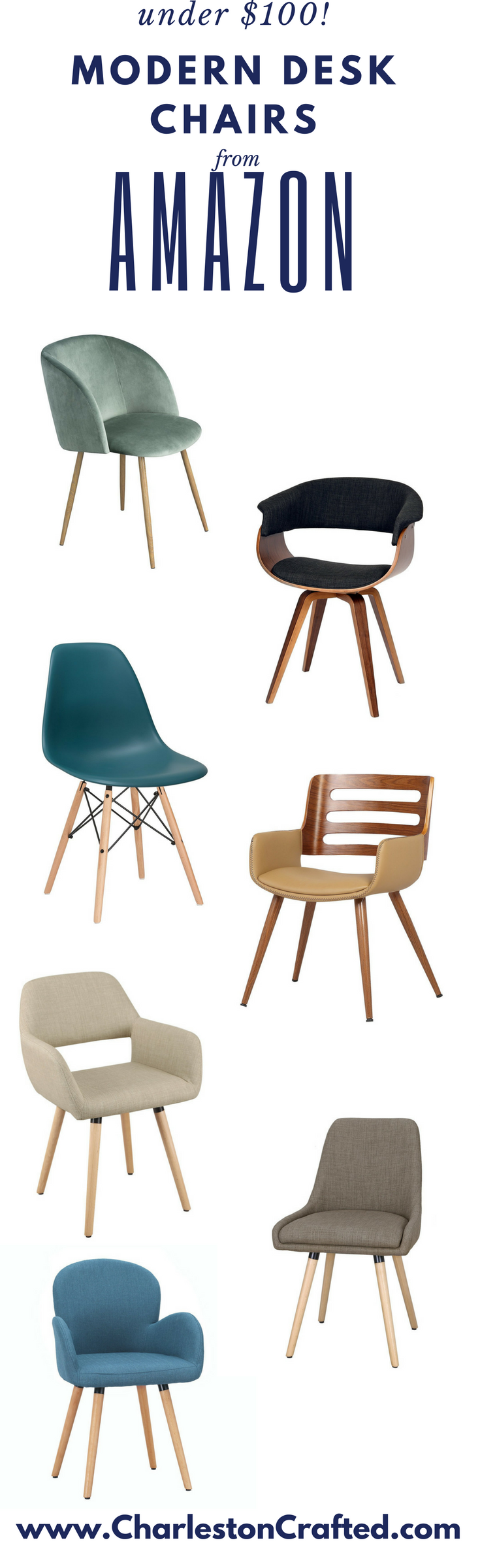 i was shocked to find so many good modern desk chairs that donu0027t look