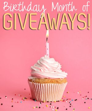 October - birthday month of giveaways | Sunny Slide Up #birthdaymonth
