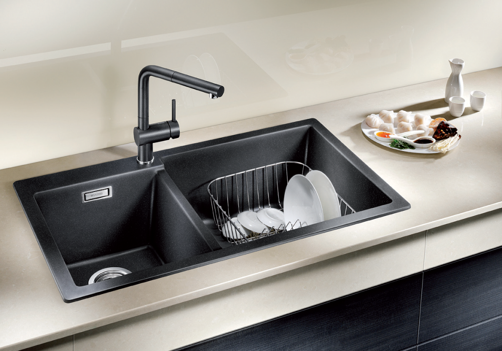 Super stylish, timelessly elegant sink design. #Kitchen # ...