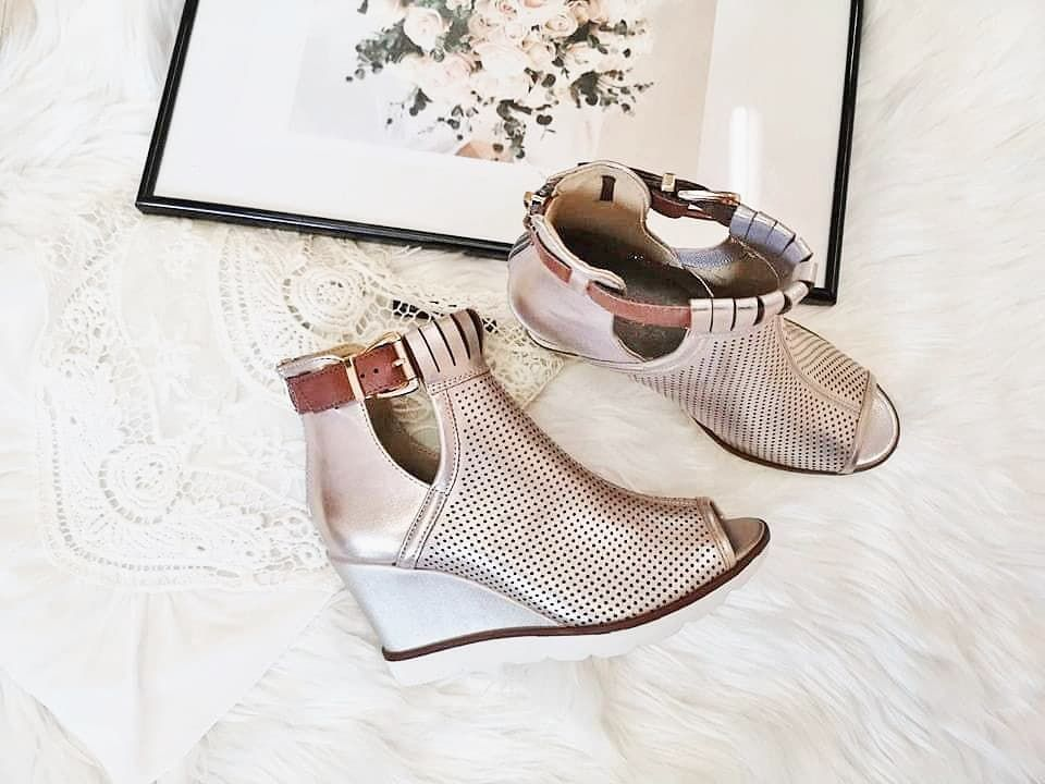 Wiosenne Botki Z Odkrytym Palcem Dbt1474 Suzana Pl Shoes Ankle Boot Boots
