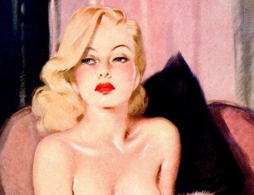 Illustration by David Wright, 1940s