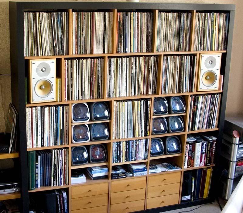 Naim Audio Forums: How Many Records Do You Own And How Do You Store Them.  Vinyl ShelfVinyl StorageIkea Cd ...