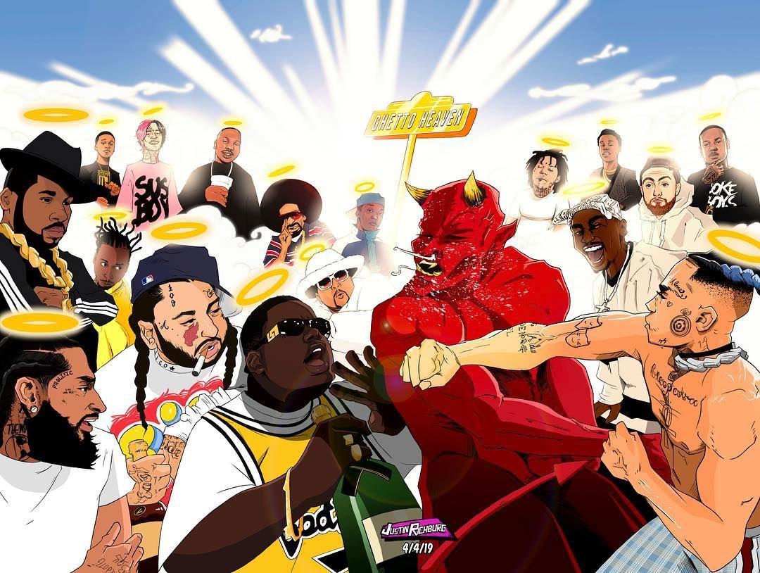 Ghetto Heaven  Mac Dre, Lil Snupe, Mac Miller-3364