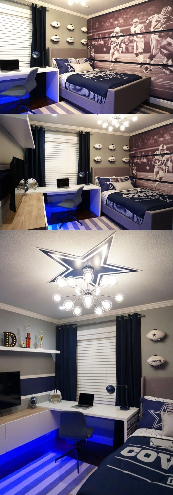 50+ Cool Teen Bedroom Ideas For Boys - FarmFoodFamily images