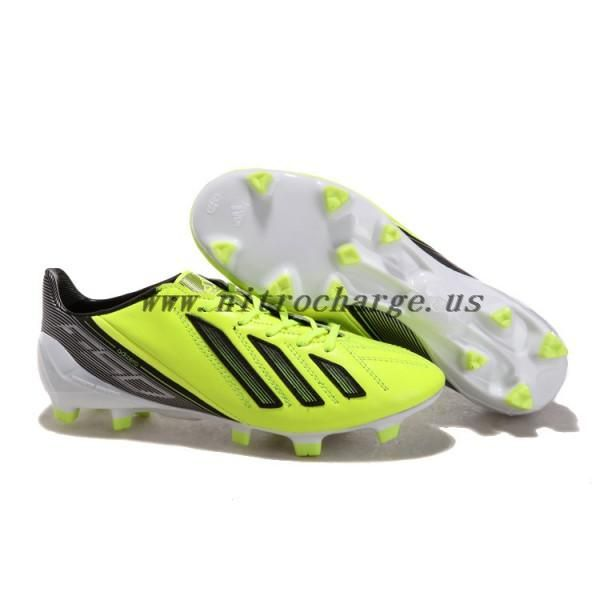 0b285239735 Messi 2012-2013 UEFA CHAMPIONS LEAGUE Adidas Adizero F50 TRX FG Green Black  White football shoes