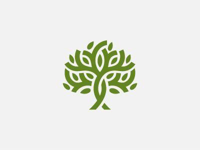 tree logos icons & badges