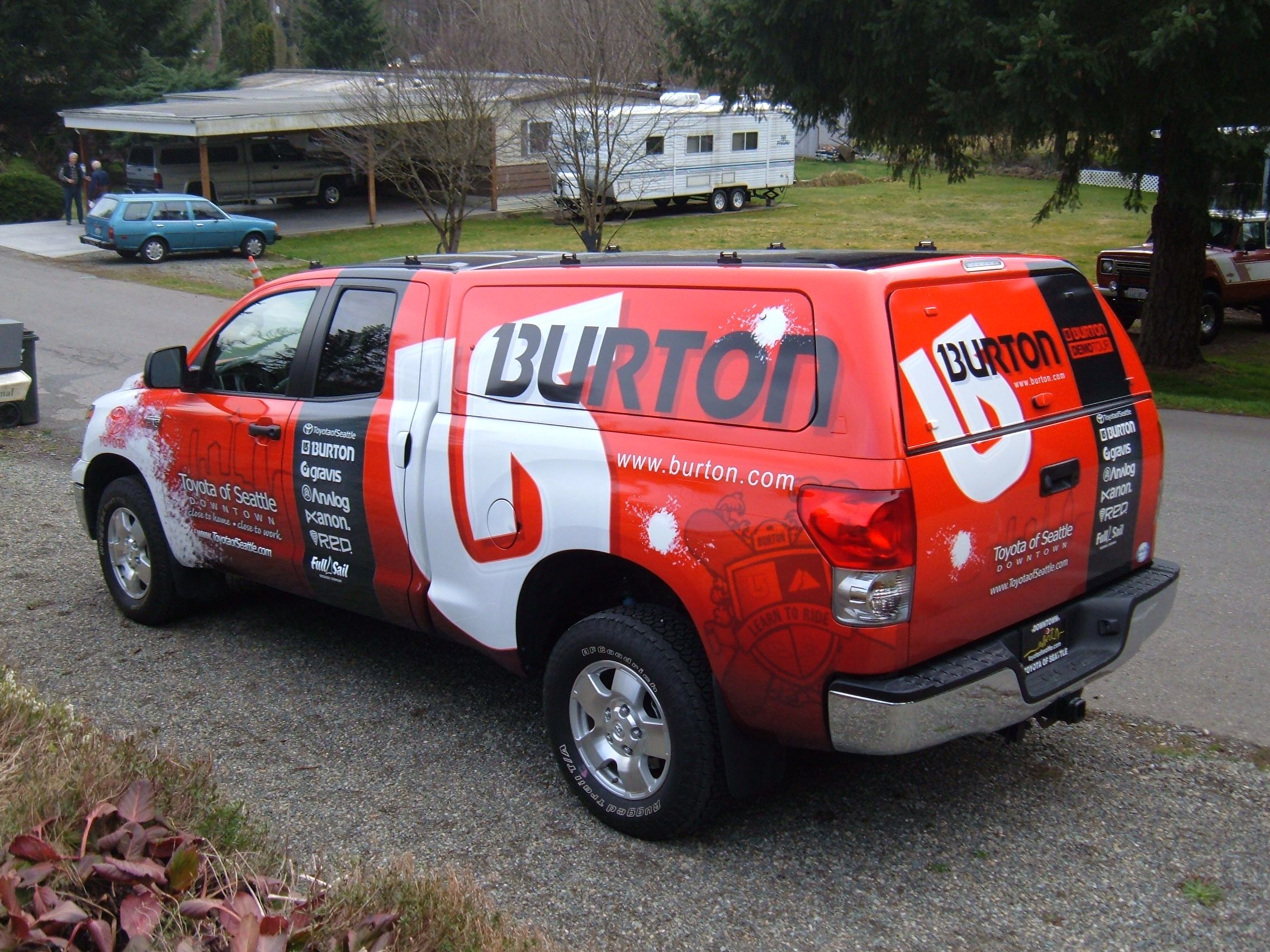 Burton Snowboard Truck Google Search Action Sport Trucks And