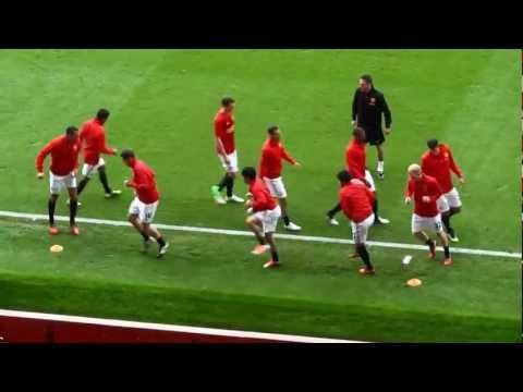 Warm Up Manchester United S Style Youtube