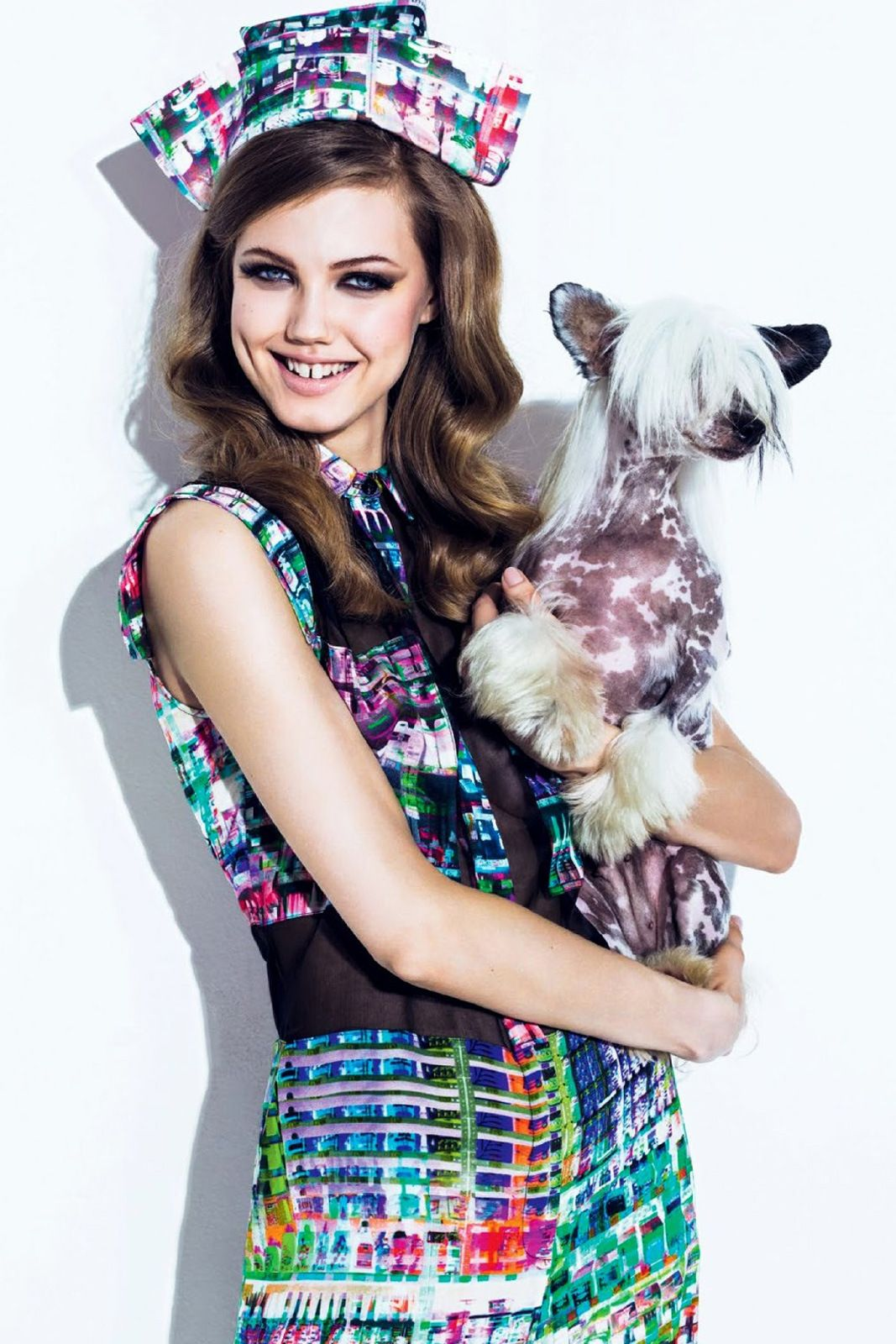 Lindsey Wixson By Jacques Dequeker For Vogue Brasil August 2013