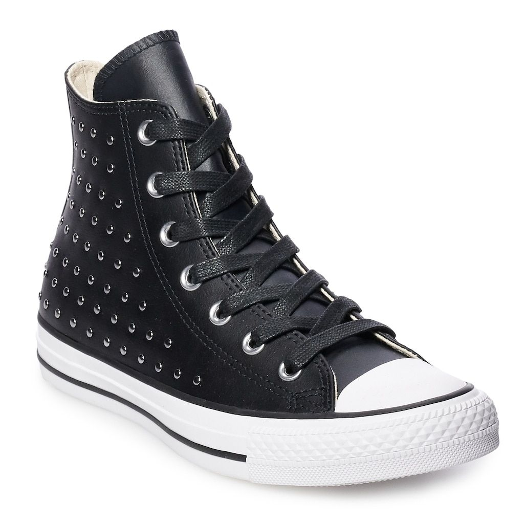 2f611ab3f21 Converse Women s Chuck Taylor All Star Leather High Top Shoes ...