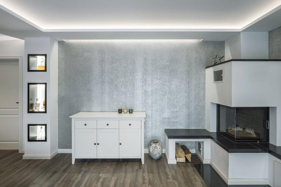 Wohnbereich Privathaus Norderstedt Home Living Wohnen Indirekte Beleuchtung