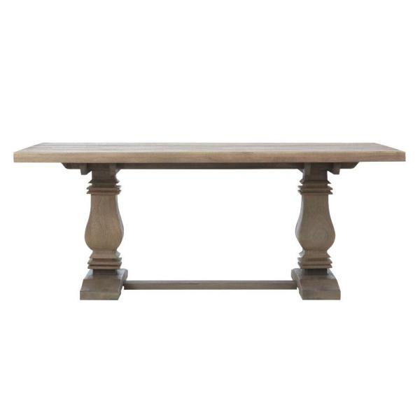 Aldridge Antique Grey Rectangular Dining Table Nb 063ag With
