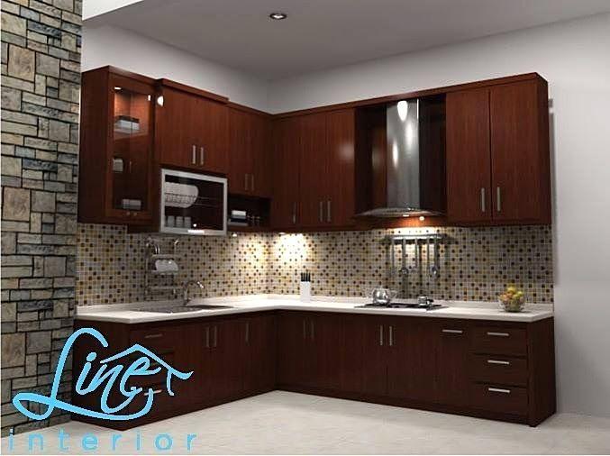 Kitchen Set Minimalis Sederhana Modern Dapur Minimalis Idaman Di