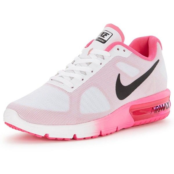 Nike Air Max Sequent Running Shoe ( 105) ❤ liked on Polyvore featuring shoes 7aadaeeb5