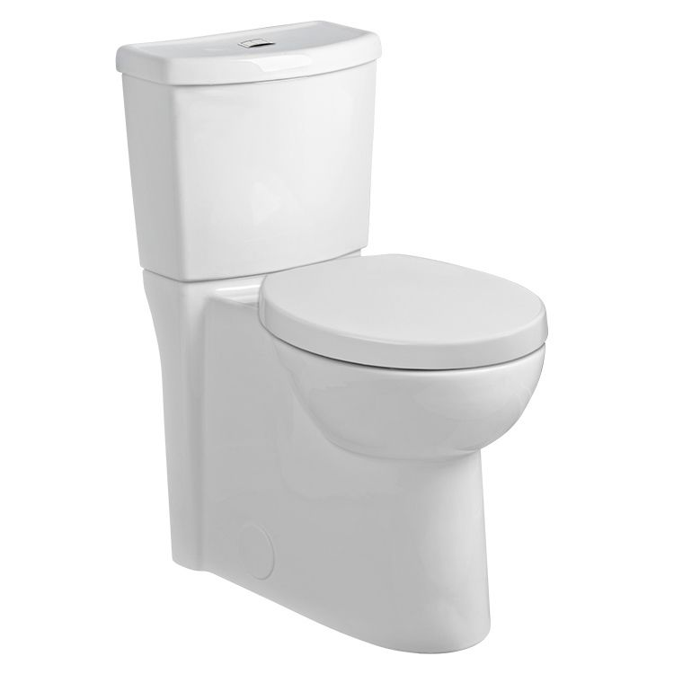 American Standard 2795 119 020 Studio Activate Right Height Round 2 Piece Toilet With Seat 1 28 Gpf Dual Flush Toilet Toilet American Standard