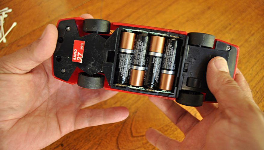 How to Clean Corroded Battery Terminals in Toys How To