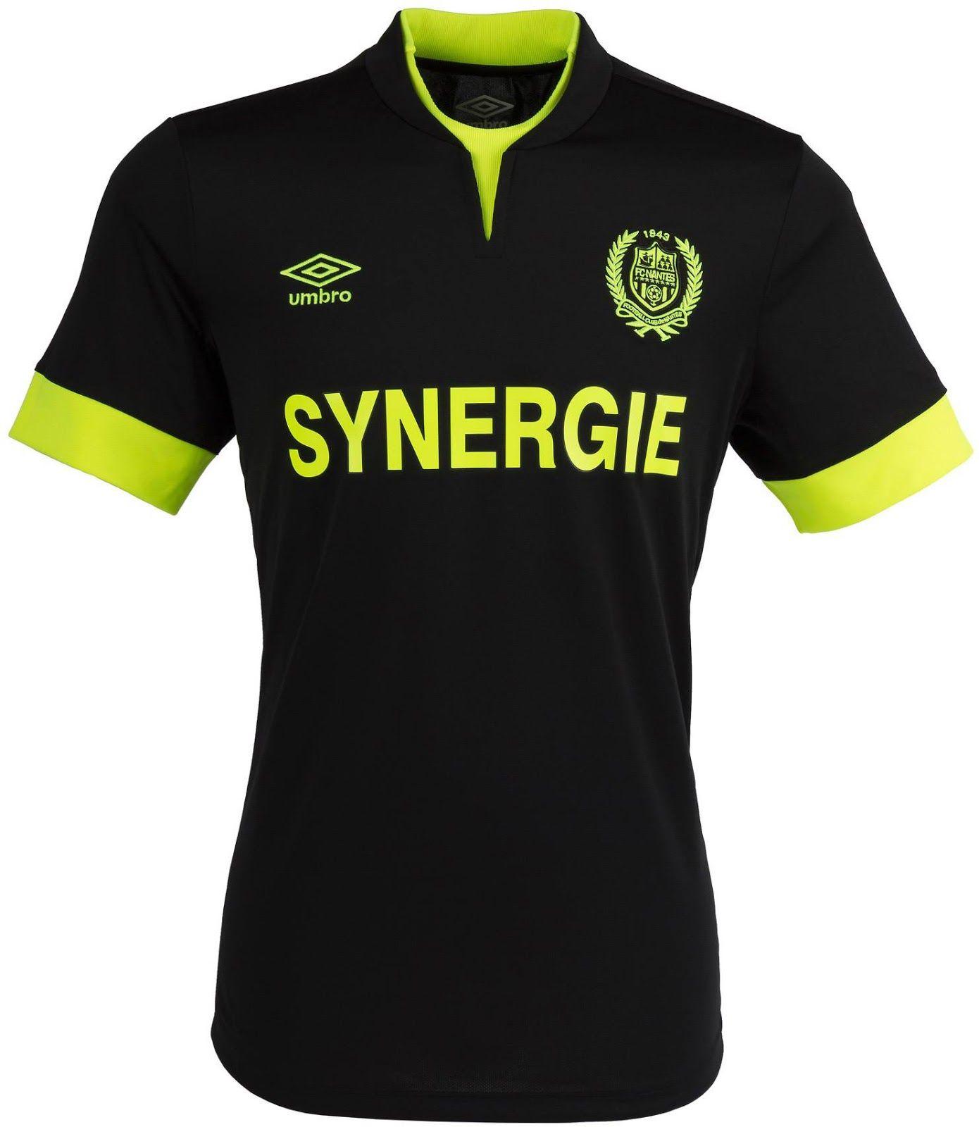 b8bf6d8fee FC Nantes (France) - 2014 2015 Umbro Away Shirt Camisas De Futebol