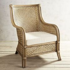 Marvelous Sakura Wicker Armchair