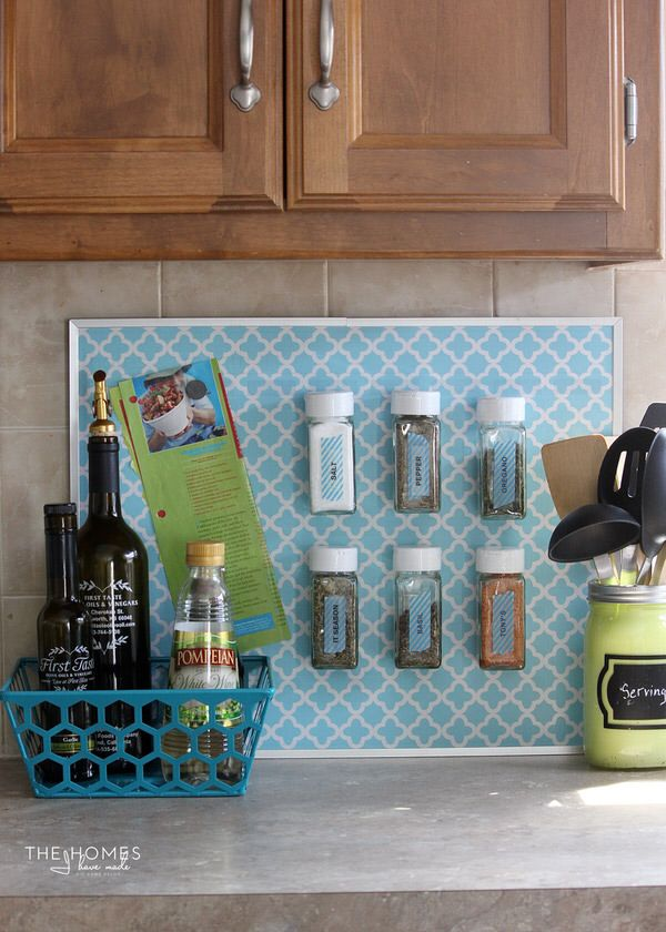 MagnetJar spice jars are a great way to keep frequently-used spices always handy and at the ready!