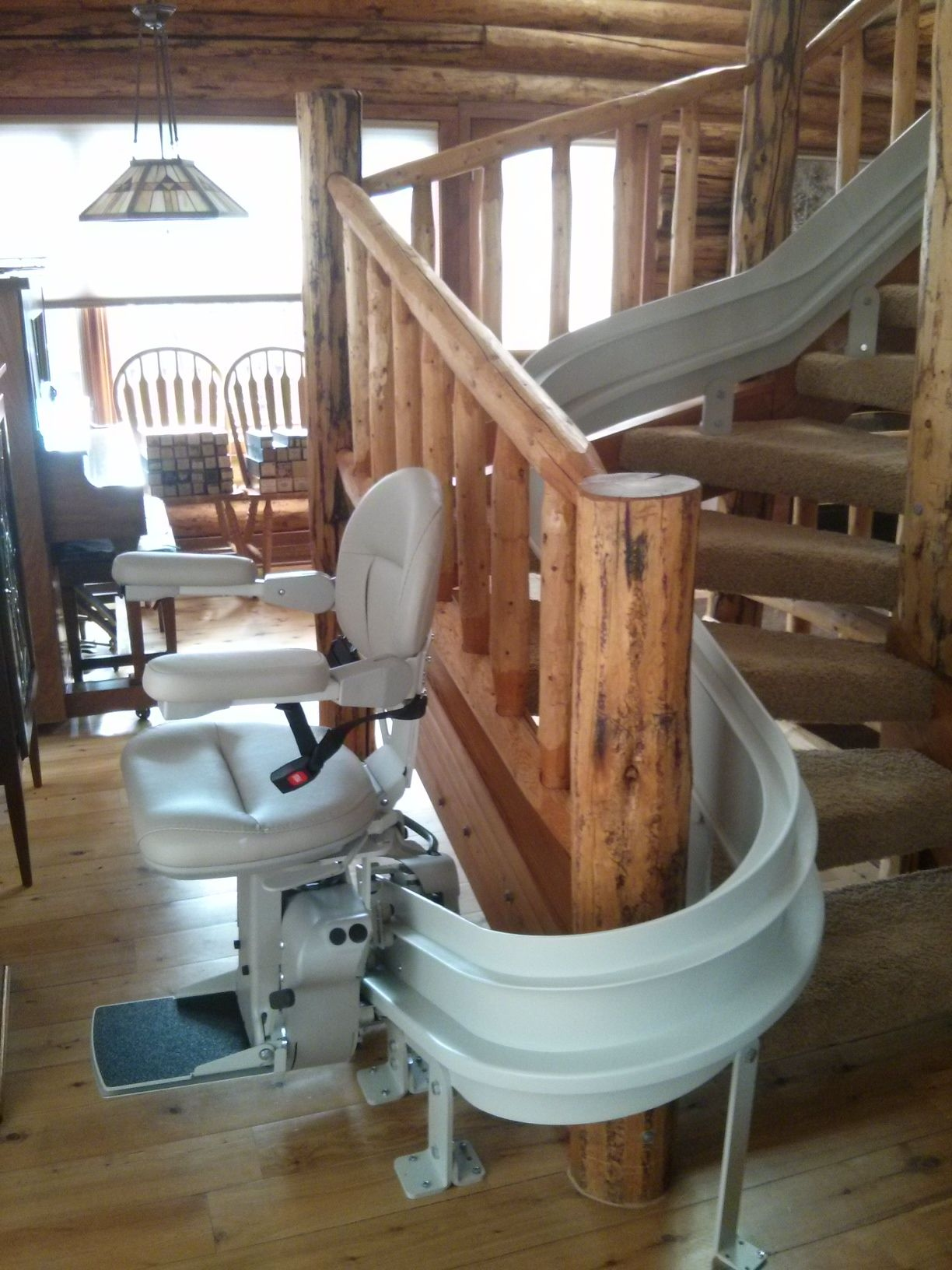Bruno Custom Curved Stairlift Accessible Systems Curved Chair Lift Chairs House Design