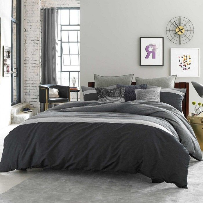 Master Bedroom Bedding Set Relaxed And Casual Kenneth Cole