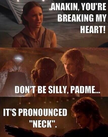Anakin Padme funny