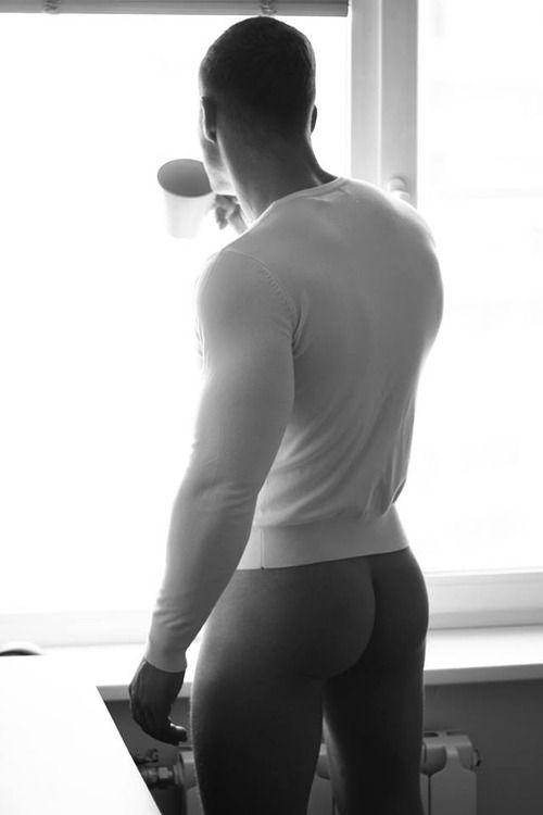 Naked hot white mens ass — img 4