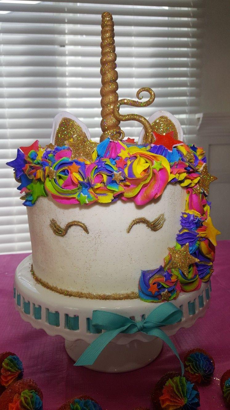 Rainbow Unicorn Cake Kianakakes In 2018 Pinterest Unicorn