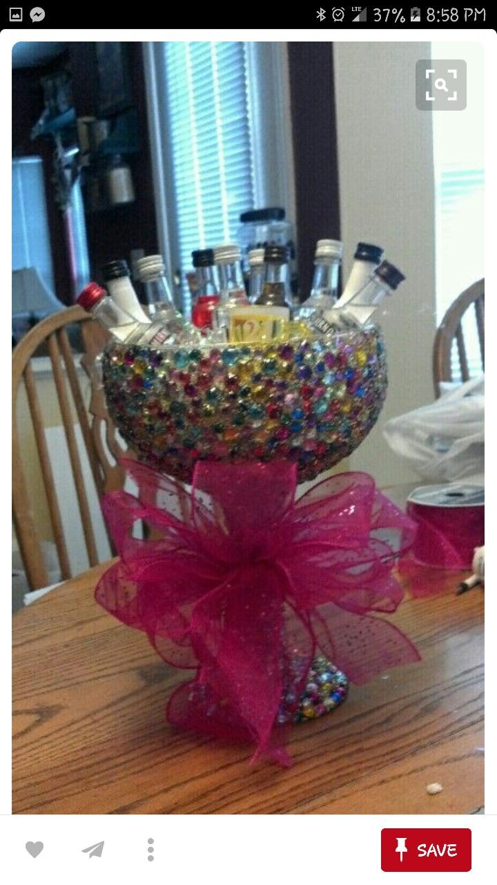 st birthday presents basket parties alcohol ts also best idea images on pinterest  ideas rh