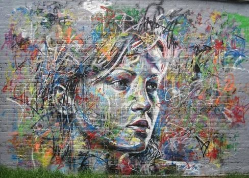 David Walker Street Art (70 pieces)