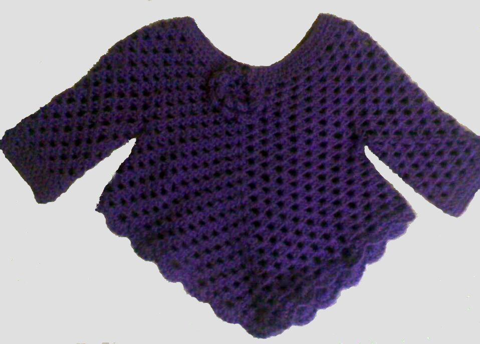 Freebabyponchocrochetpattern My Alterations Were Fairly Simple
