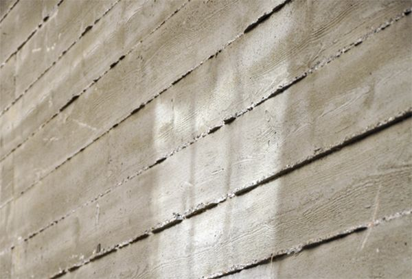 Board Formed Concrete Walls Board Formed Concrete