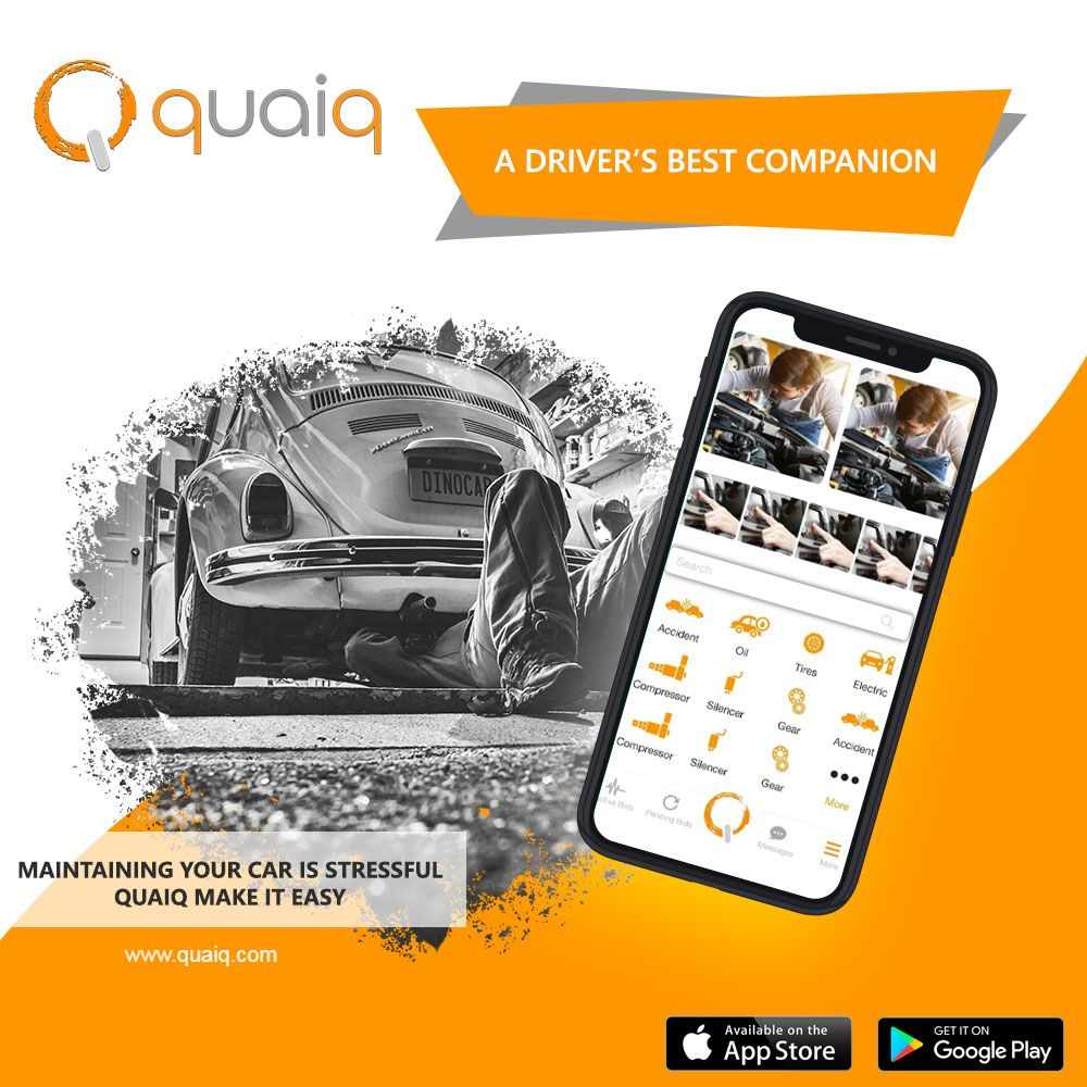 Maintaining your car is Stressful? QUAIQ make it easy! in